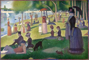 Seurat, love in spring